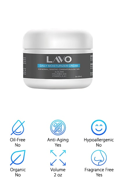 Lavo Facial Moisturizer for Oily Skin