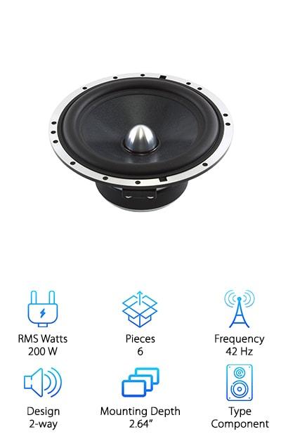 Skar Audio Component Speaker