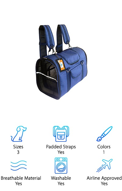 Natuvalle Pet Carrier Backpack