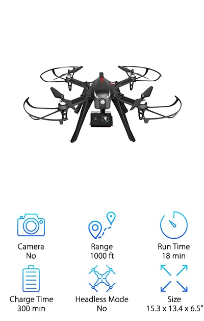 RCtown Brushless Drone GoPro