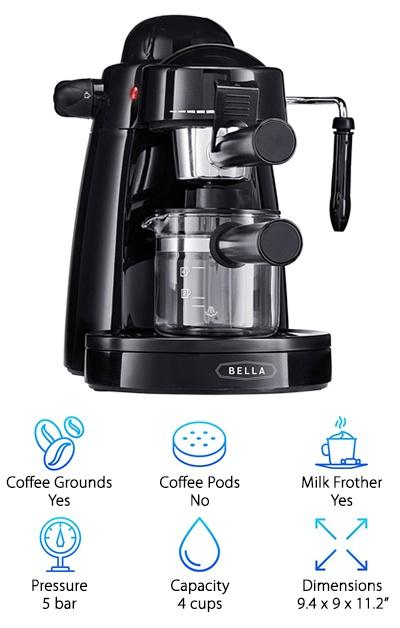BELLA Espresso Maker
