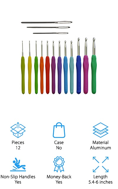 Athena Elements Crochet Hooks