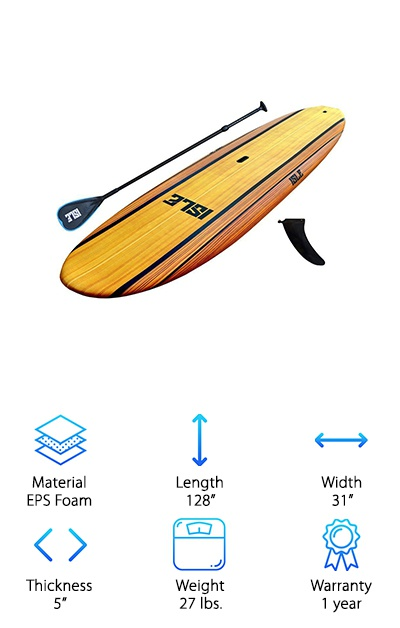 Best Epoxy Wooden Paddle Boards