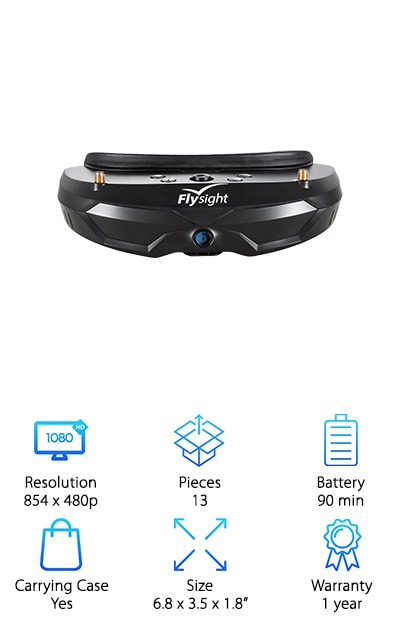 Flysight 40CH FPV Goggles