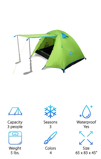 Topnaca Backpacking Tent