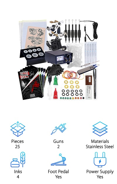 Rehab Ink Tattoo Kit
