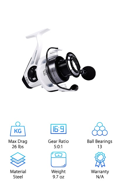 Yongzhi Spinning Fishing Reel