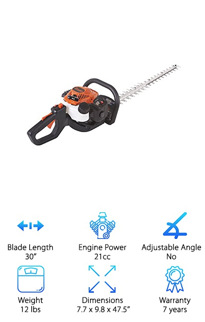 Tanaka 2-Cycle Hedge Trimmer