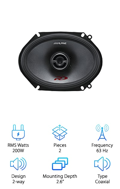"Best 6x8"" Speakers"
