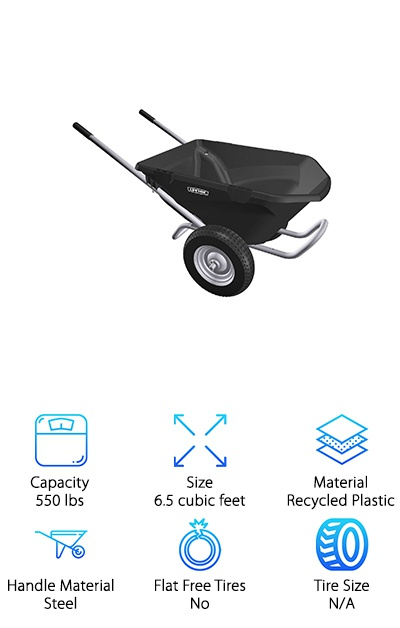 Lifetime 65034 Wheelbarrow