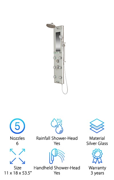 Pulse Kihei II Shower Spa