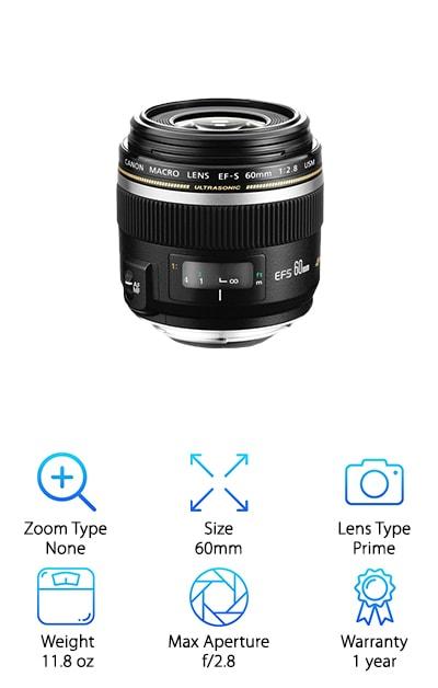 Canon EF-S SLR Lens