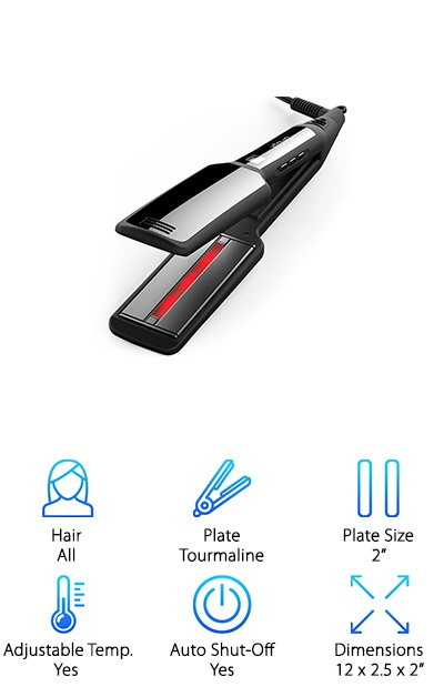 Xtava Infrared Hair Straightener