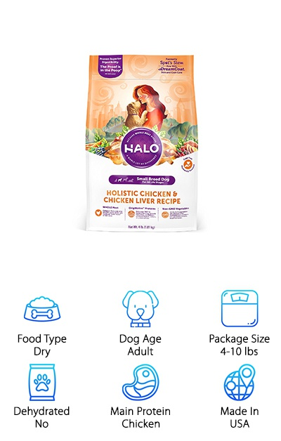 Halo Spot's Natural Dry Food