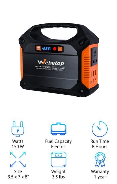 Webetop Portable Generator Inverter