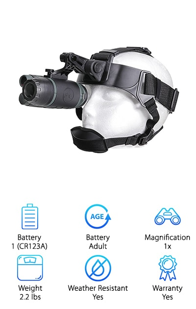 Firefield Night Vision Monocular Goggle