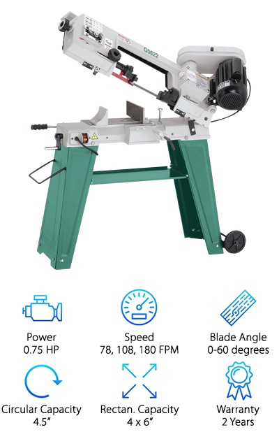 Grizzly G0622 Band Saw