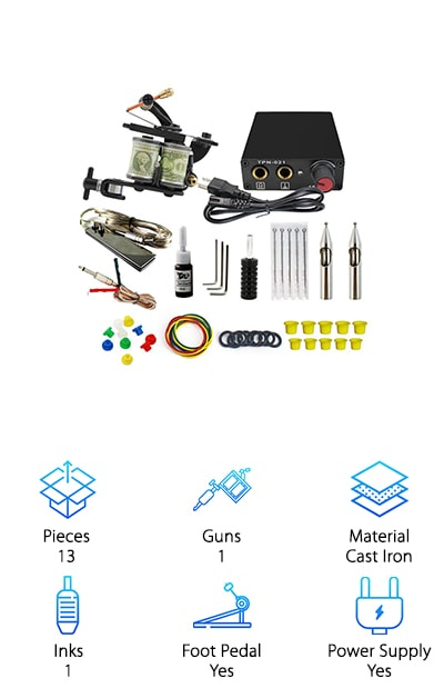 ITATOO Complete Tattoo Kit