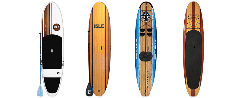 Epoxy & Wooden Paddle Boards