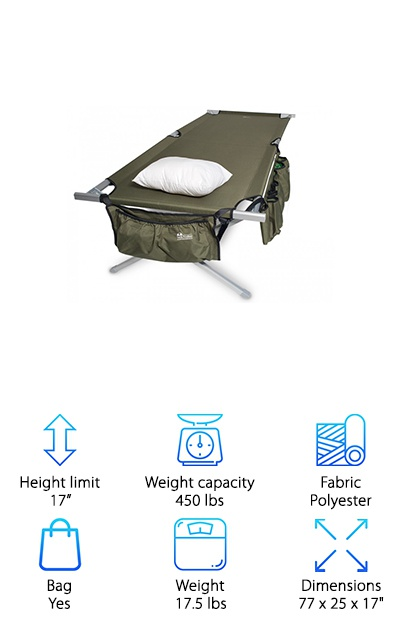 EARTH Military Style Cot