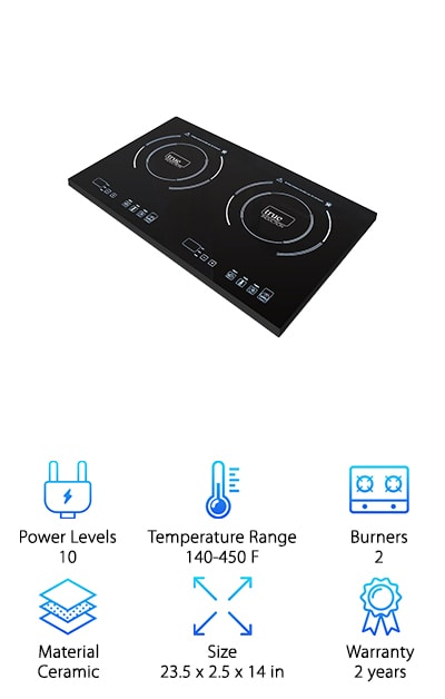 True Induction TI-2C Cooktop