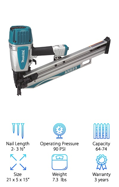 Makita AN923 Framing Nailer