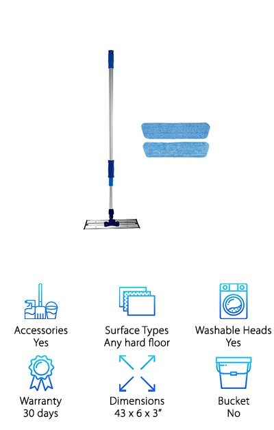 Real Clean Microfiber Mop