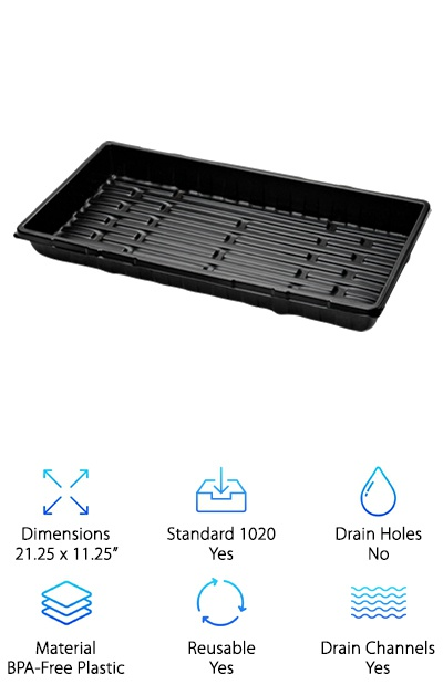 Best Hydroponic Grow Trays