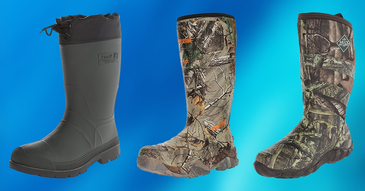 6c84f0cc64d 10 Best Rubber Hunting Boots 2019 [Buying Guide] – Geekwrapped