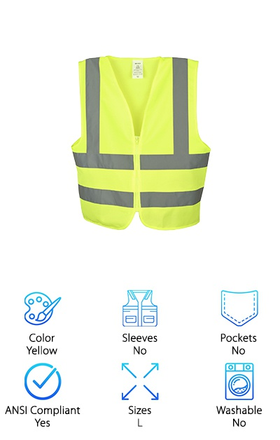 Neiko 53941A Safety Vest
