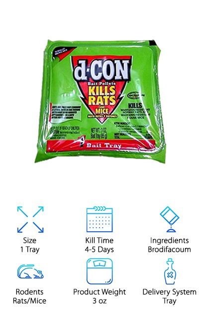 D-Con Rat & Mouse Bait Pellets