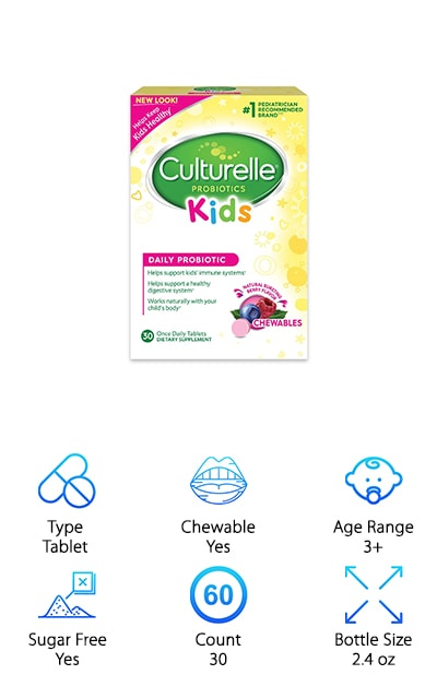 Culturelle Kids Daily Probiotic
