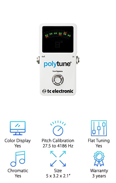 TC Electronic Pedal Tuner