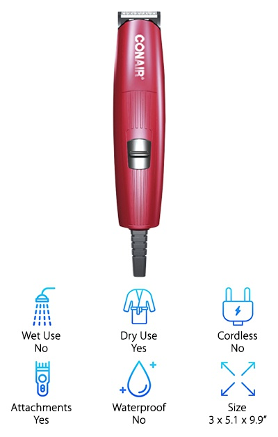 Conair Corded Beard Trimmer