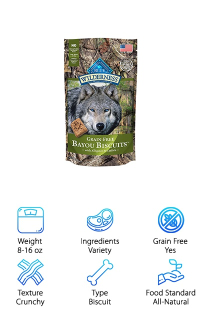Blue Wilderness Natural Biscuits