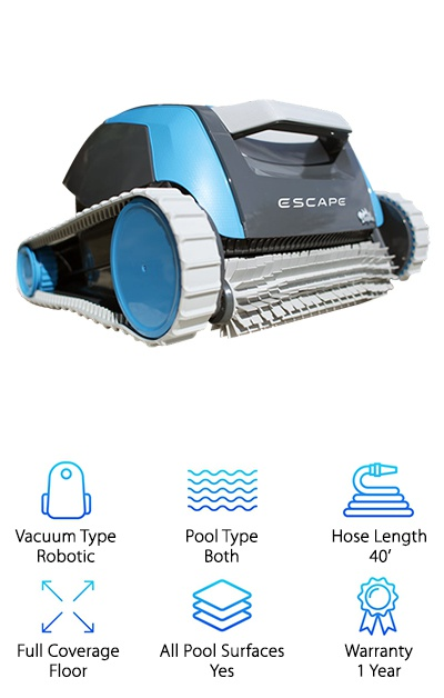 Dolphin Escape Robotic Cleaner