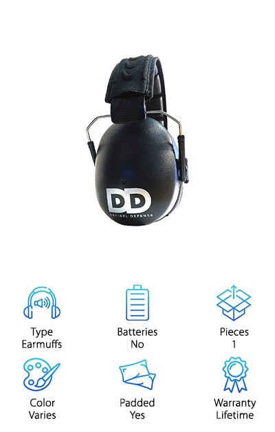 Decibel Defense Ear Muffs