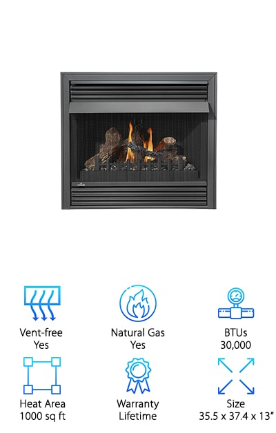 Terrific 10 Best Gas Fireplaces 2019 Buying Guide Geekwrapped Home Remodeling Inspirations Genioncuboardxyz