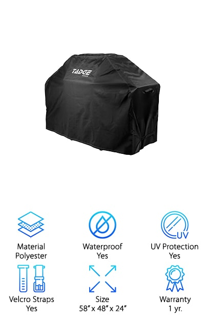 Tadge Goods BBQ Grill Cover