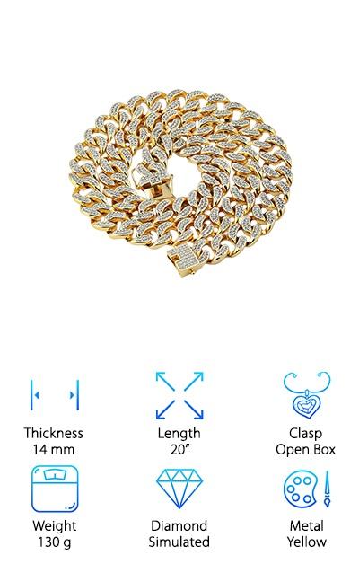 Jin'ao Simulated Diamond Chain