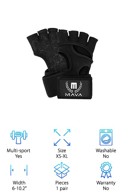 Mava Sports Cross Training Gloves
