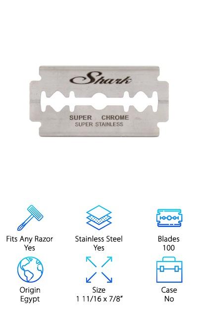 Shark Safety Razor Blades