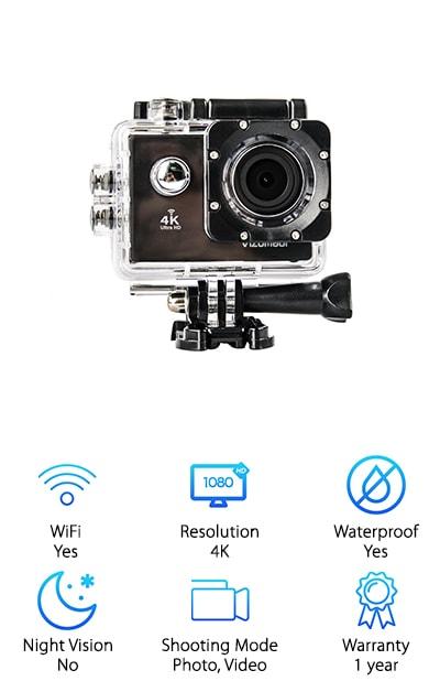 VIZOMAOI 4K Sports Action Camera