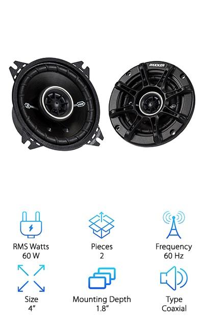 Kicker 41DSC44 Speaker