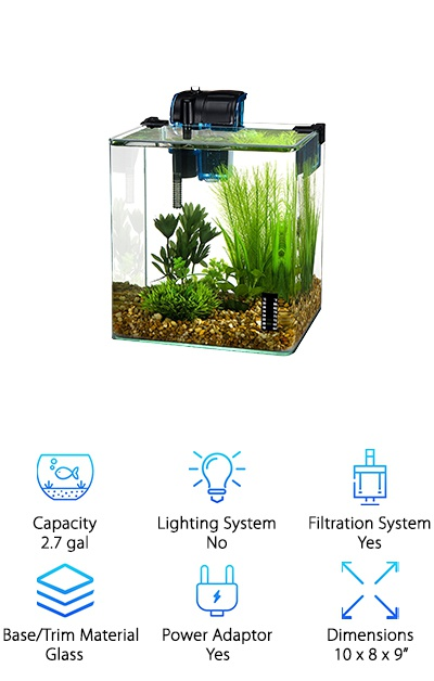 Penn Plax Aquarium Kit