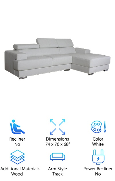 US Pride Leather Sectional
