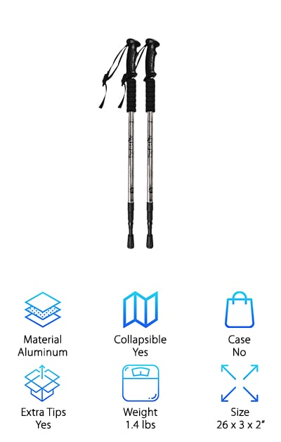 FitLife Nordic Walking Poles