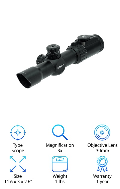 UTG 30mm Crossbow Scope