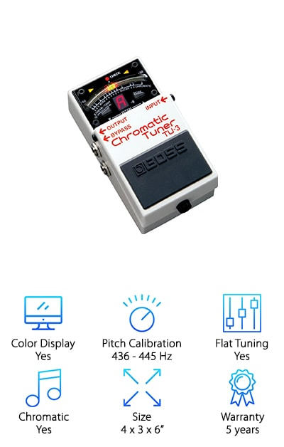 Boss Chromatic Tuner Pedal