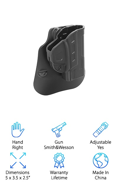 Cytac-GG Fast Draw Holster